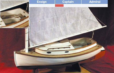 Cape Cod Catboat | Model Boat Kit