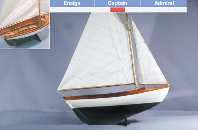 Herreshoff 12 1/2 | Model Boat Kit