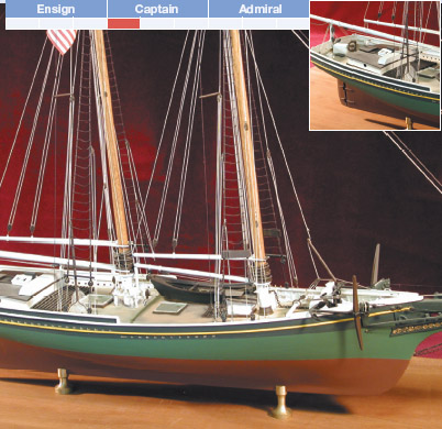 SMUGGLER | Model Boat Kit