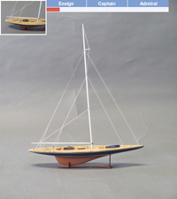 Model Boat Kits Model Ship Kits Blue Jacket