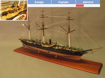 Model Boat Kits & Model Ship Kits -- Blue Jacket